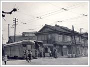 戦前の綾乃町停留所